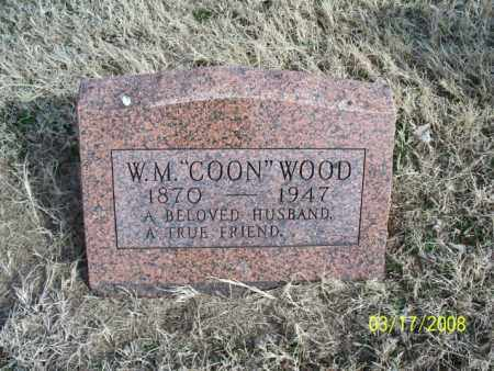 WOOD, W. M. - Nowata County, Oklahoma | W. M. WOOD - Oklahoma Gravestone Photos