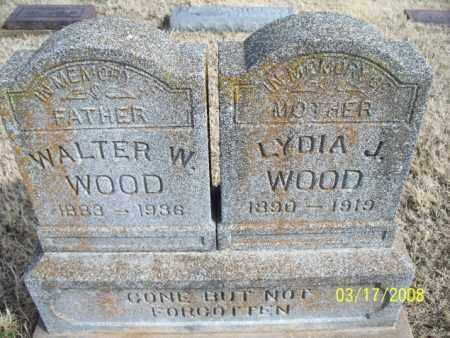 WOOD, LYDIA J. - Nowata County, Oklahoma | LYDIA J. WOOD - Oklahoma Gravestone Photos