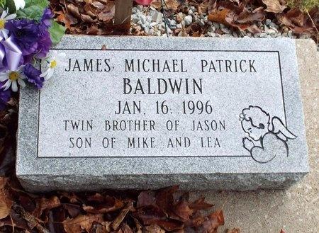 BALDWIN, JAMES MICHAEL PATRICK - Ottawa County, Oklahoma | JAMES MICHAEL PATRICK BALDWIN - Oklahoma Gravestone Photos