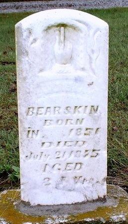 BEARSKIN, ILLEGIBLE - Ottawa County, Oklahoma | ILLEGIBLE BEARSKIN - Oklahoma Gravestone Photos