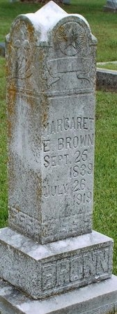 GILMORE BROWN, MARGARET E - Ottawa County, Oklahoma | MARGARET E GILMORE BROWN - Oklahoma Gravestone Photos