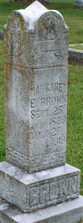 BROWN, MARGARET E - Ottawa County, Oklahoma | MARGARET E BROWN - Oklahoma Gravestone Photos