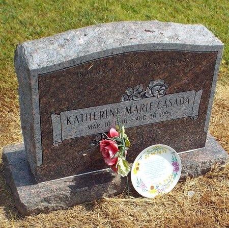 CASADA, KATHERINE MARIE - Ottawa County, Oklahoma | KATHERINE MARIE CASADA - Oklahoma Gravestone Photos