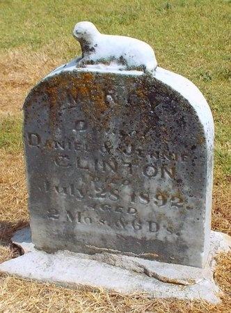 CLINTON, MERCY - Ottawa County, Oklahoma   MERCY CLINTON - Oklahoma Gravestone Photos