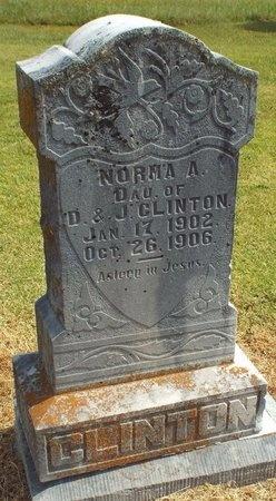CLINTON, NORMA A - Ottawa County, Oklahoma | NORMA A CLINTON - Oklahoma Gravestone Photos