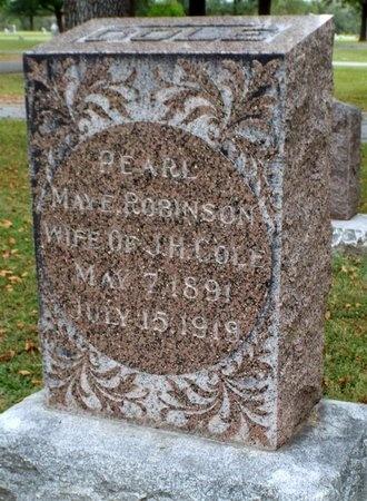 ROBINSON COLE, PEARL MAYE - Ottawa County, Oklahoma | PEARL MAYE ROBINSON COLE - Oklahoma Gravestone Photos