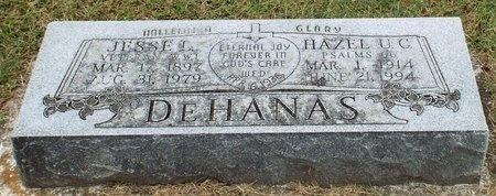 DEHANAS, HAZEL CLARA - Ottawa County, Oklahoma | HAZEL CLARA DEHANAS - Oklahoma Gravestone Photos