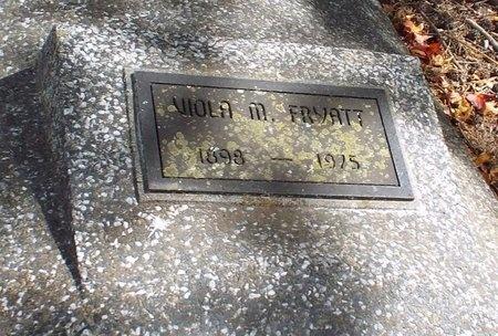 JAMES FRYATT, VIOLA M - Ottawa County, Oklahoma | VIOLA M JAMES FRYATT - Oklahoma Gravestone Photos