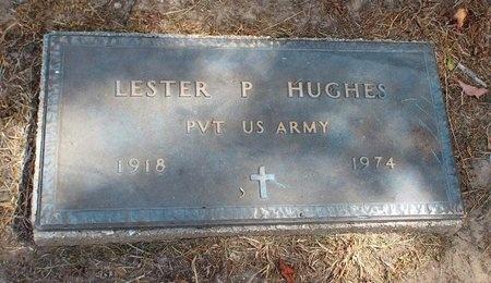 HUGHES (VETERAN), LESTER P - Ottawa County, Oklahoma | LESTER P HUGHES (VETERAN) - Oklahoma Gravestone Photos