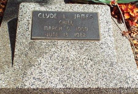 "JAMES, CLYDE LACAIR ""CHEIF"" - Ottawa County, Oklahoma | CLYDE LACAIR ""CHEIF"" JAMES - Oklahoma Gravestone Photos"