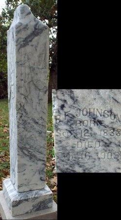 JOHNSON, BENJAMIN F - Ottawa County, Oklahoma   BENJAMIN F JOHNSON - Oklahoma Gravestone Photos