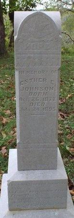 JOHNSON, ESTHER ERENA - Ottawa County, Oklahoma | ESTHER ERENA JOHNSON - Oklahoma Gravestone Photos