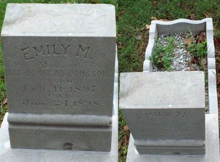 JOHNSON, EMILY MAXINE - Ottawa County, Oklahoma | EMILY MAXINE JOHNSON - Oklahoma Gravestone Photos