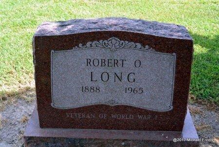 LONG (VETERAN WWI), ROBERT O. - Ottawa County, Oklahoma | ROBERT O. LONG (VETERAN WWI) - Oklahoma Gravestone Photos