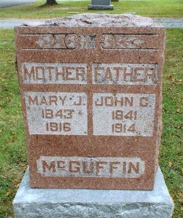 MCGUFFIN, JOHN CROMWELL - Ottawa County, Oklahoma | JOHN CROMWELL MCGUFFIN - Oklahoma Gravestone Photos