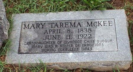 """MCKEE, MARY """"TAREMA"""" - Ottawa County, Oklahoma   MARY """"TAREMA"""" MCKEE - Oklahoma Gravestone Photos"""
