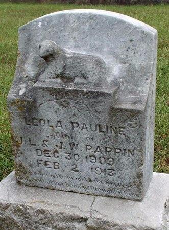 PAPPIN, LEOLA PAULINE - Ottawa County, Oklahoma | LEOLA PAULINE PAPPIN - Oklahoma Gravestone Photos