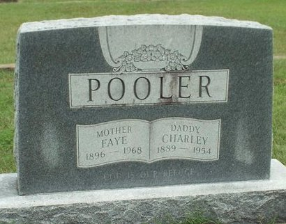 "POOLER, CHARLES EDWARD ""CHARLEY"" - Ottawa County, Oklahoma | CHARLES EDWARD ""CHARLEY"" POOLER - Oklahoma Gravestone Photos"