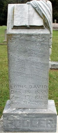 POOLER, LOUIS DAVID - Ottawa County, Oklahoma   LOUIS DAVID POOLER - Oklahoma Gravestone Photos