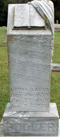 POOLER, LOUIS DAVID - Ottawa County, Oklahoma | LOUIS DAVID POOLER - Oklahoma Gravestone Photos