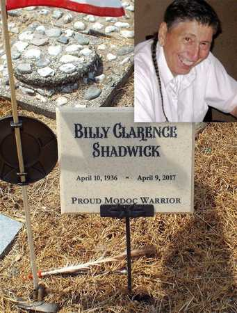 "SHADWICK, BILLY CLARENCE ""MODOC BILL"" - Ottawa County, Oklahoma 