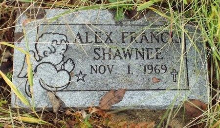 SHAWNEE, ALEX FRANCIS - Ottawa County, Oklahoma | ALEX FRANCIS SHAWNEE - Oklahoma Gravestone Photos