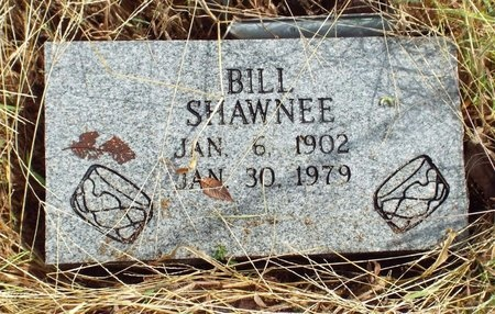 SHAWNEE, BILL - Ottawa County, Oklahoma | BILL SHAWNEE - Oklahoma Gravestone Photos