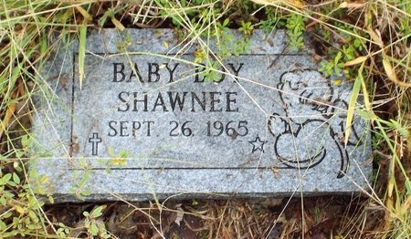 SHAWNEE, INFANT SON - Ottawa County, Oklahoma | INFANT SON SHAWNEE - Oklahoma Gravestone Photos