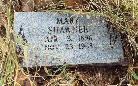 SHAWNEE, MARY M - Ottawa County, Oklahoma | MARY M SHAWNEE - Oklahoma Gravestone Photos