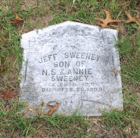 SWEENEY, JEFF - Ottawa County, Oklahoma | JEFF SWEENEY - Oklahoma Gravestone Photos