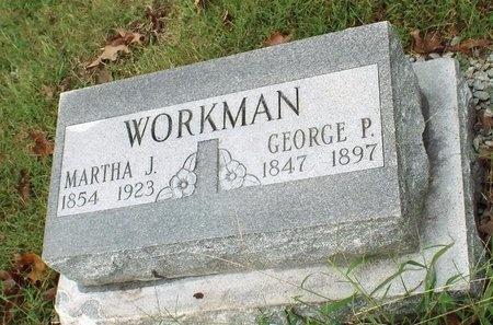 WORKMAN, GEORGE P - Ottawa County, Oklahoma | GEORGE P WORKMAN - Oklahoma Gravestone Photos