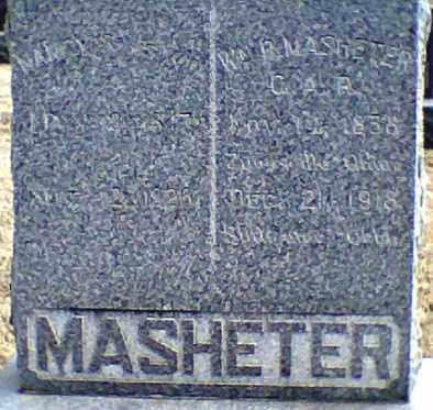 MASHETER, WILLIAM - Payne County, Oklahoma | WILLIAM MASHETER - Oklahoma Gravestone Photos