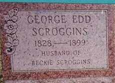 SCROGGINS, GEORGE EDD - Pontotoc County, Oklahoma | GEORGE EDD SCROGGINS - Oklahoma Gravestone Photos