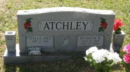 ATCHLEY, KENNETH HAROLD - Pushmataha County, Oklahoma | KENNETH HAROLD ATCHLEY - Oklahoma Gravestone Photos