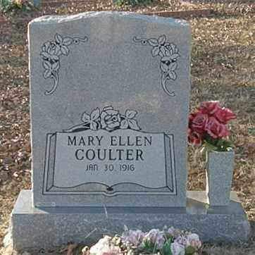 COULTER, MARY ELLEN - Pushmataha County, Oklahoma | MARY ELLEN COULTER - Oklahoma Gravestone Photos