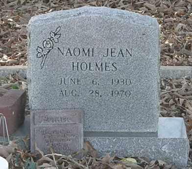 HOLMES, NAOMI JEAN - Pushmataha County, Oklahoma | NAOMI JEAN HOLMES - Oklahoma Gravestone Photos