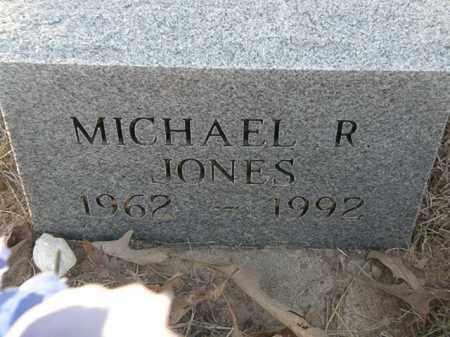 JONES, MICHAEL R. - Pushmataha County, Oklahoma   MICHAEL R. JONES - Oklahoma Gravestone Photos