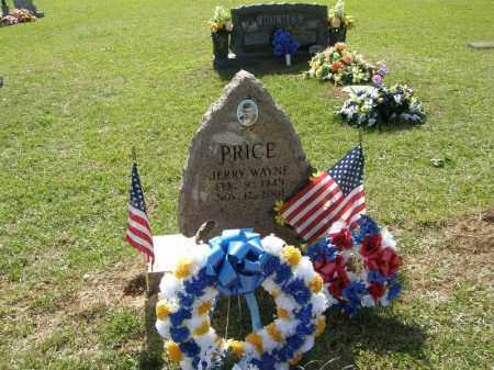PRICE, JERRY WAYNE - Pushmataha County, Oklahoma   JERRY WAYNE PRICE - Oklahoma Gravestone Photos