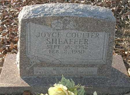COULTER SHEAFFER, JOYCE - Pushmataha County, Oklahoma | JOYCE COULTER SHEAFFER - Oklahoma Gravestone Photos