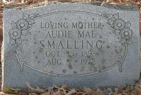 SMALLING, AUDIE MAE - Pushmataha County, Oklahoma | AUDIE MAE SMALLING - Oklahoma Gravestone Photos