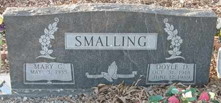 SMALLING, MARY C. - Pushmataha County, Oklahoma | MARY C. SMALLING - Oklahoma Gravestone Photos