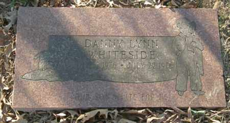 WHITESIDE, DANNY LYNN - Pushmataha County, Oklahoma | DANNY LYNN WHITESIDE - Oklahoma Gravestone Photos