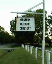 *.*, WINGANON KETCHUM SIGN - Rogers County, Oklahoma | WINGANON KETCHUM SIGN *.* - Oklahoma Gravestone Photos