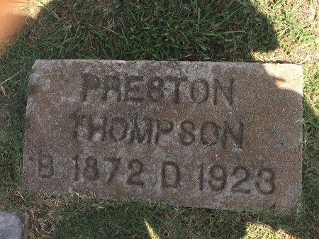THOMPSON, JAMES PRESTON - Rogers County, Oklahoma | JAMES PRESTON THOMPSON - Oklahoma Gravestone Photos