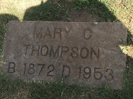 PITTSENBERGER THOMPSON, MARY CATHERINE - Rogers County, Oklahoma | MARY CATHERINE PITTSENBERGER THOMPSON - Oklahoma Gravestone Photos