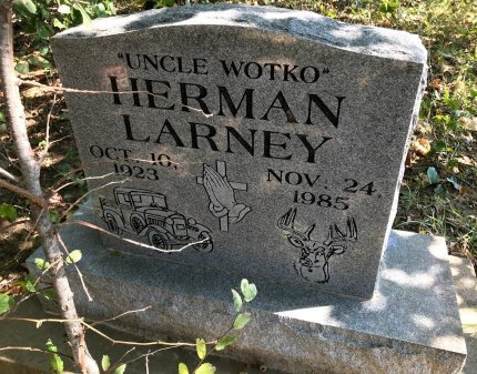 LARNEY, HERMAN - Seminole County, Oklahoma | HERMAN LARNEY - Oklahoma Gravestone Photos