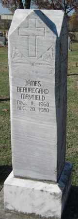 MAYFIELD, JAMES BEAUREGARD - Sequoyah County, Oklahoma | JAMES BEAUREGARD MAYFIELD - Oklahoma Gravestone Photos