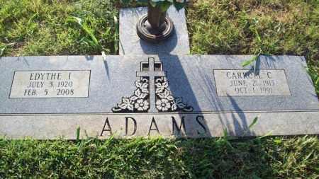 ADAMS, EDYTHE I. - Stephens County, Oklahoma | EDYTHE I. ADAMS - Oklahoma Gravestone Photos