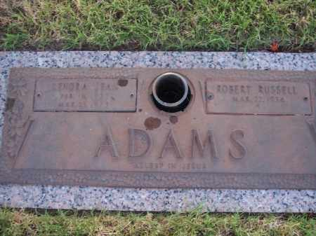 ADAMS, ROBERT R. - Stephens County, Oklahoma | ROBERT R. ADAMS - Oklahoma Gravestone Photos