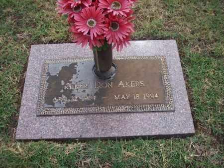 AKERS, JERRY D. - Stephens County, Oklahoma | JERRY D. AKERS - Oklahoma Gravestone Photos